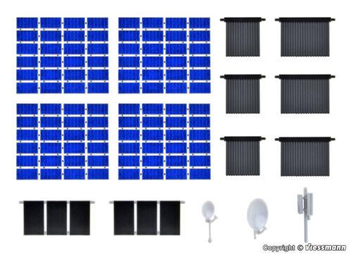Photovoltaik  NEU//OVP Kibri H0  38602 Deko-Set Solar Röhren