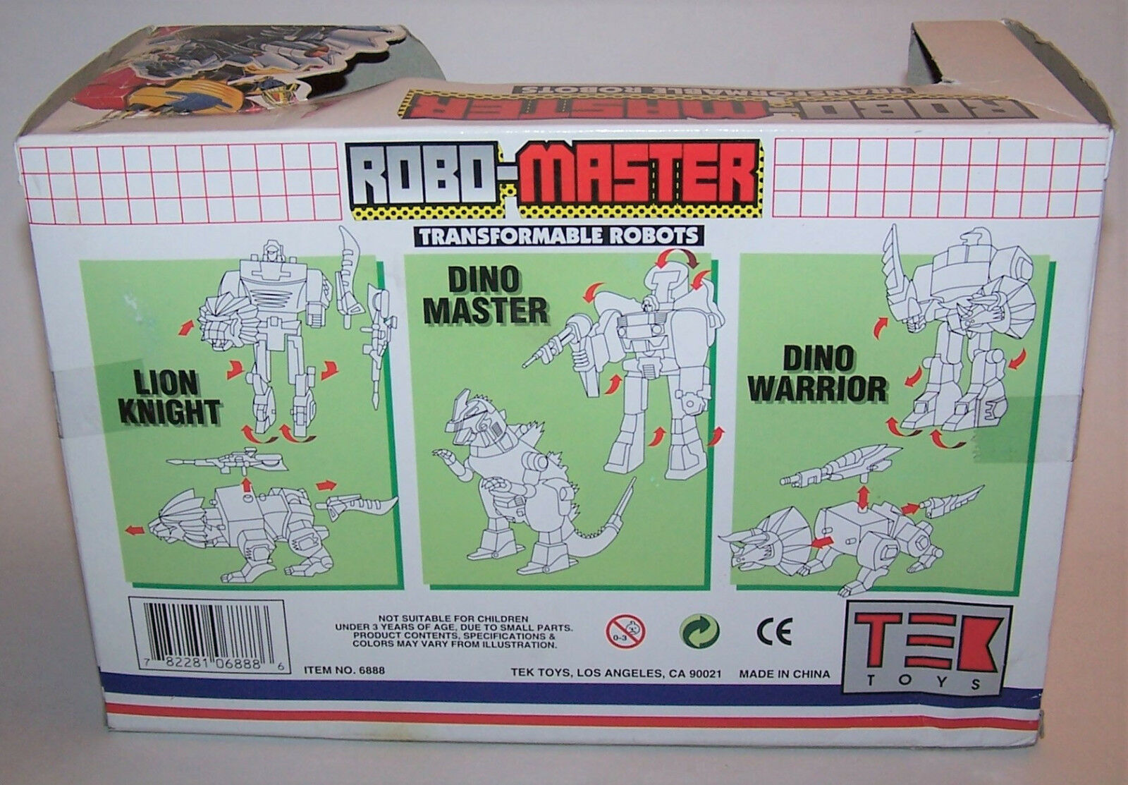 Vintage Vintage Vintage Robo-Master LION KNIGHT Transformable Robot by TEK TOYS 1fc2a2
