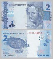 Brasilien / Brazil 2 Reais 2010 p252b unz.