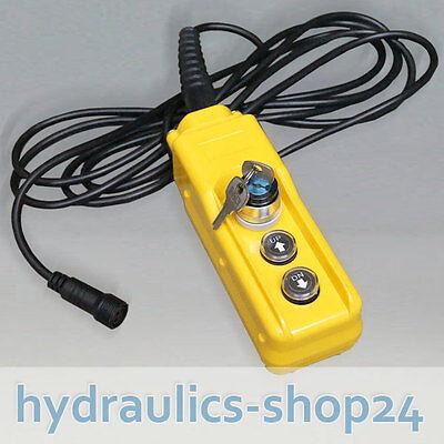 Abschließbare Kabelfernbedienung für Hydraulikpumpe / Hydraulikaggregate