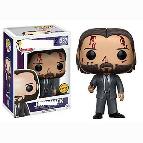 Funko pop JOHN WICK 387# Limited Vinyl Figures Doll Toy Collectible Model