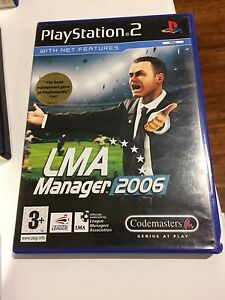 LMA-Manager-2006-PS2-complete-tested-PlayStation-2