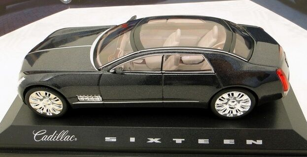 NOREV 1 43 AUTO DIE CAST CADILLAC SIXTEEN MIDNIGHTS gris SCURO METAL   910000