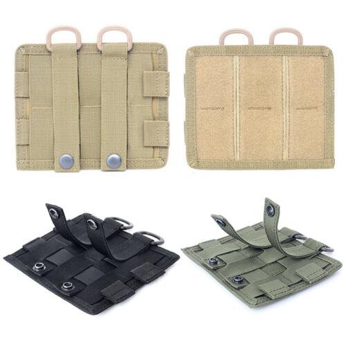 HOOK LOOP Tactical Sports Military Molle Nylon Radio Walkie Talkie Holder Bag