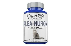 MONTHLY-Flea-Control-1-Year-Supply-For-CATS-2-20-Lbs-205Mg-GoodLife-12-Capsules
