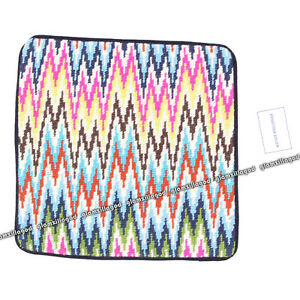 JONATHAN-ADLER-Bargello-Sandpiper-Drive-Multi-Color-Pillow-Case-New