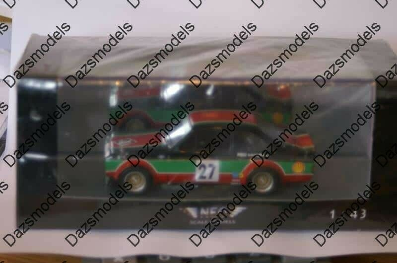 Neo Ford Escort RS Gr2 Castrol ETCC 1976 in 1 43 scale NEO
