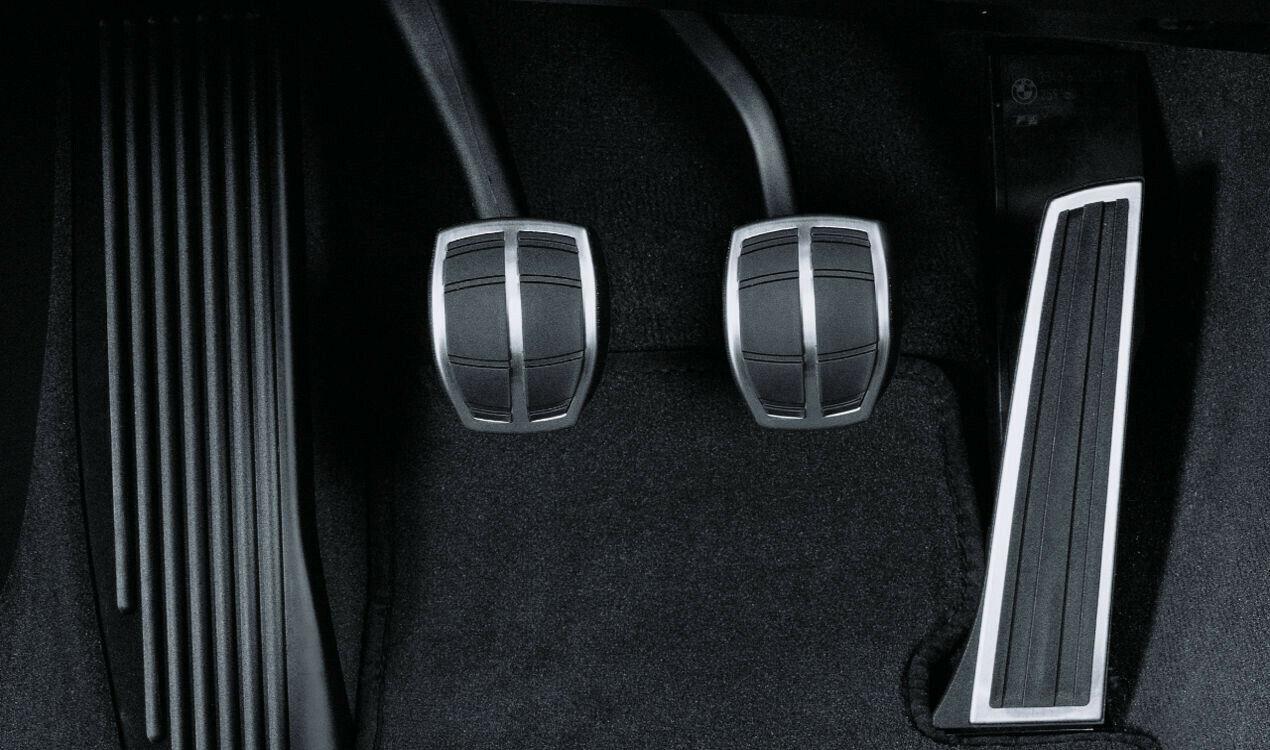 Original BMW Performance Edelstahl Pedalauflagen Schaltgetriebe 35000410099