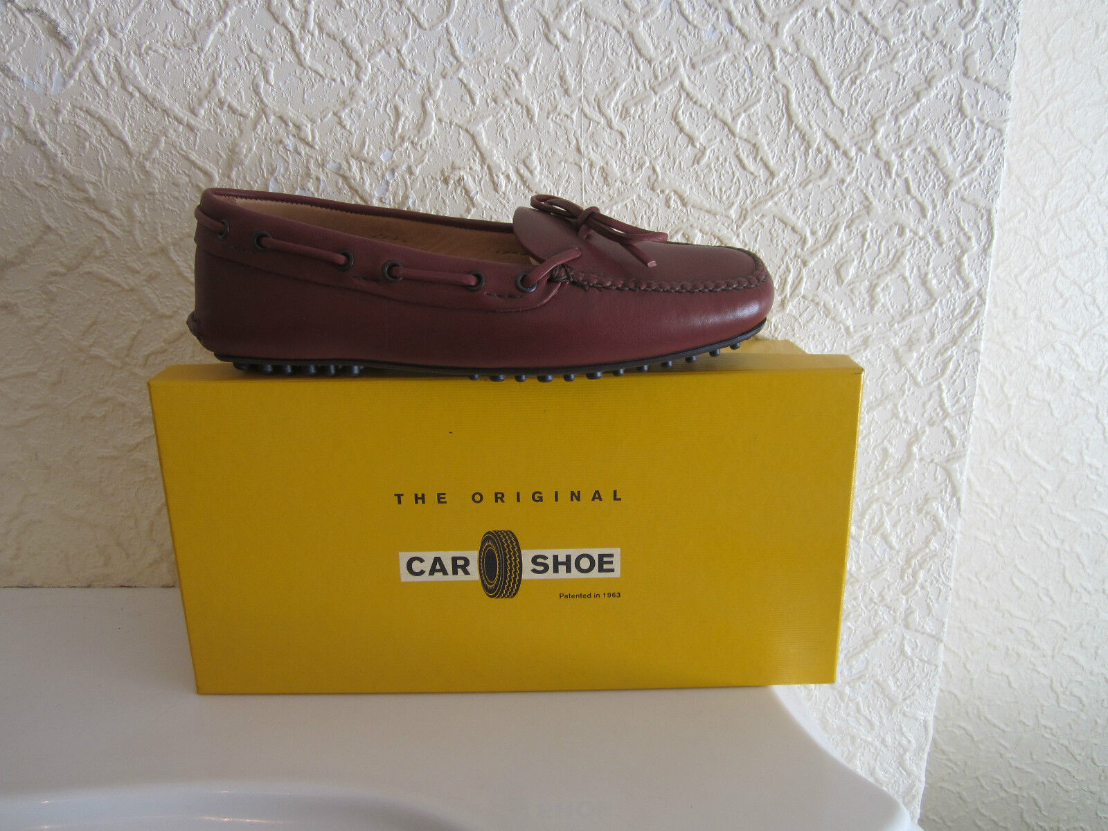 Car shoes Leather Driving shoes