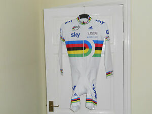 NEW-TEAM-GB-UCI-world-champion-stripes-cycling-bike-skinsuit-rider-issue-SKY