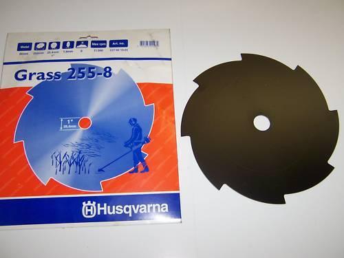 "HUSQVARNA Grass Blade 255-8 1/"" Trou 8 Dent 537021901"