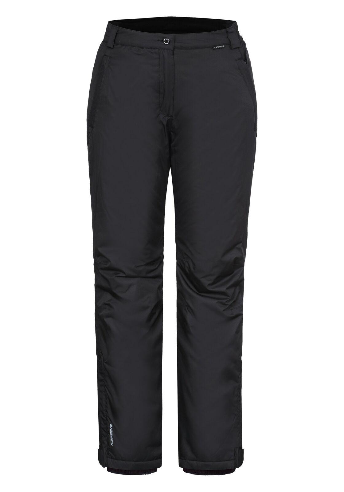 Pantalone da sci damen Icepeak Nanna schwarz Codice 54037-501-990