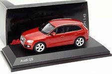 Audi Q5 Baujahr 2013 vulkanrot 1:43 Schuco