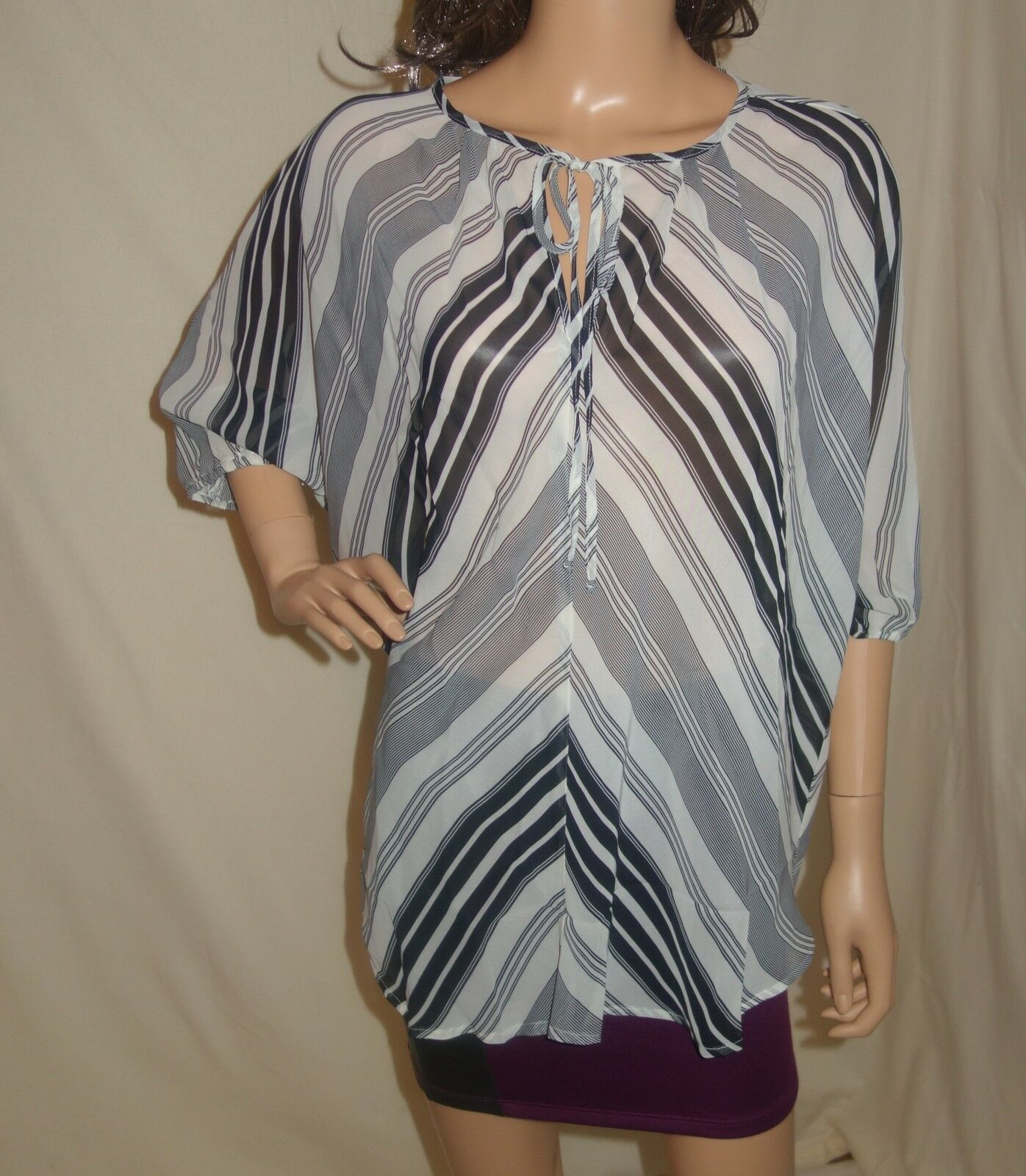 Hayden Kennedy Keyhole Blouse Tunic new Size SMALL