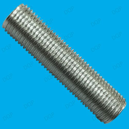 6x M13 40mm x 13mm Allthread Hollow Threaded Rod Tube For Electrical Lamp Socket