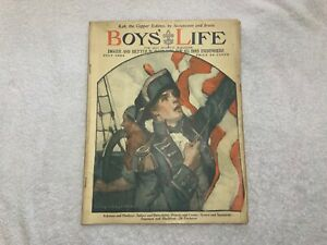 BOY-039-S-LIFE-Mag-July-1924-Rare-BSA-Boy-Scouts-Magazine