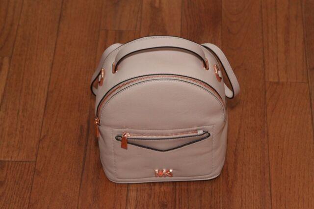 095c0ae809 NWT Michael Kors  268 Jessa Small Convertible Backpack Handbag Soft  Pink Gold