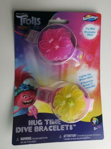 Trolls World Tour Hug Time Dive Bracelets Pink Purple Water Activated Light Up
