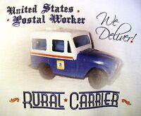 Postal Worker T-shirt Service Mailman Postman Dj5 Jeep Mail Rural