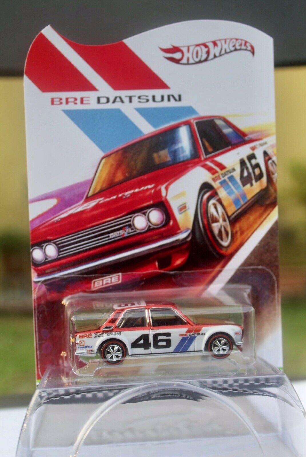 Hot Wheels Datsun 510 Red  Spectra Custom With Carded Custom  READ Descripti