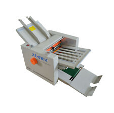 Folding Paper In Different Styles 110v Adjustable Auto Paper Folding Machine