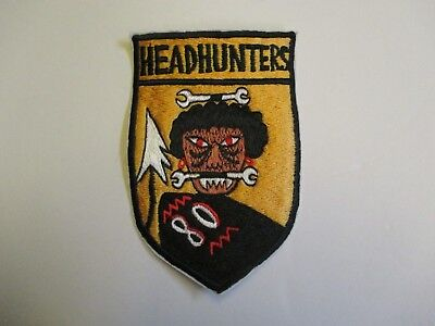 b4925 US Air Force Vietnam 80th Fighter Squadron Headhunters large IR21D