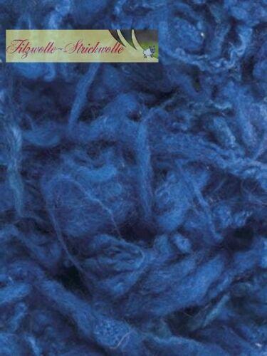 Laine-Attirer Leicester 50 g-Bleu
