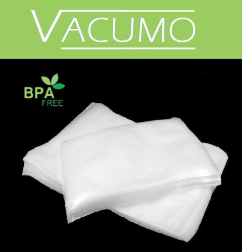 VACUMO S-VAC 250 Stk 20 x 50 cm Vakuumbeutel Gefrierbeutel Vakuumfolie goffriert  khtvd