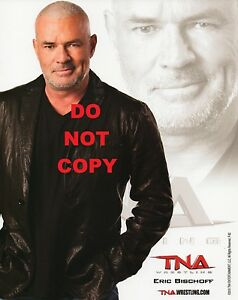 ERIC-BISCHOFF-TNA-PROMO-PHOTO-8x10-034-AMERICAN-WRESTLING-WWF-WWE-WCW