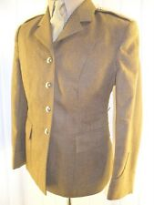 Womans lady Army GSC  FAD No2 Uniform parade SD tunic Jacket 12-14 1940s style
