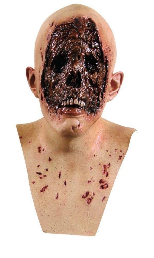 Herren Evil kein Gesicht Kopf und Hals Latex Zombie Halloween Horror Film Kostüm  | Verwendet in der Haltbarkeit  | Zu einem niedrigeren Preis  | Clever und praktisch  | Zuverlässiger Ruf  | Won hoch geschätzt und weithin vertraut im in- und Ausland v