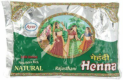 Ayur Rajasthani Henna (Mehndi) Powder, 200 gm