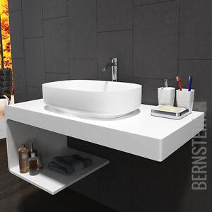 Berühmt Waschtischkonsole Waschbecken Waschtischplatte Aufsatzwaschtisch TV83
