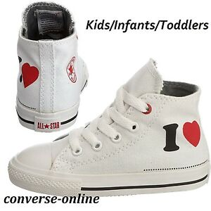 de las Botas Boy's encantan 19 Babies Me Unido zapatillas 3 Reino Star Girls All Converse Tamaño deporte altas z0SddW7qCp