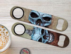 Details about Vikings Clowns Skulls Personalized Bartender Bar Blades  Custom Bottle Openers