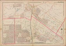 1913 G.W. BROMLEY, CLOSTER, DEMAREST, HAWORTH, BERGEN COUNTY N.J. COPY ATLAS MAP