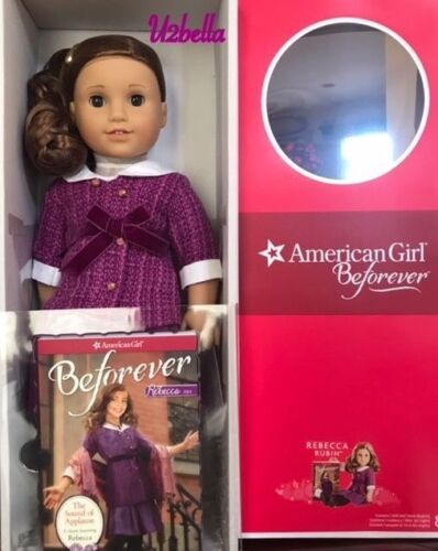 American Girl Doll Rebecca BEFOREVER Doll /& Book NEW IN BOX