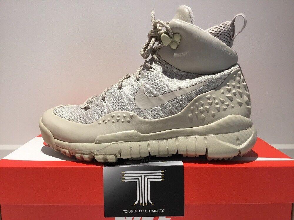 Nike Lupinek Flyknit Chukka Stiefel  862512 200  Uk Größe 4.5  Euro 38