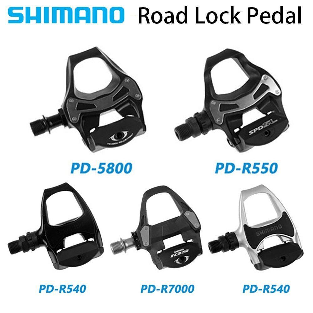 Shimano Pedal PD R540 Road Fahrrad Pedal PD R550  PD 5800 PD R7000  SH10 11 Cleats