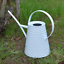 thumbnail 9 - HORTICAN Galvanized Watering Can Modern Style Watering Pot with Handle for Outdo