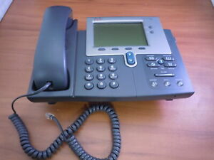 LOT of 5 Cisco CP-7942G 7942 IP VoIP Office Phone w// Handset *Working /& Tested*