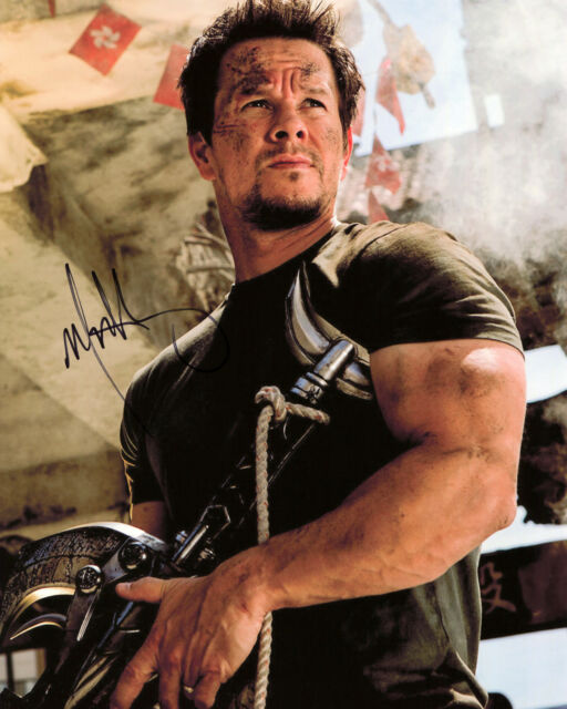 Mark Wahlberg - Cade Yeager - Transformers - Signed Autograph REPRINT