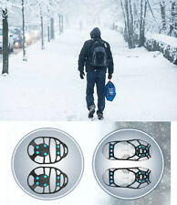 Ice Grips for Shoes Boots NON SLIP Men Women Safety Walk EASY WRAP Snow Gripper