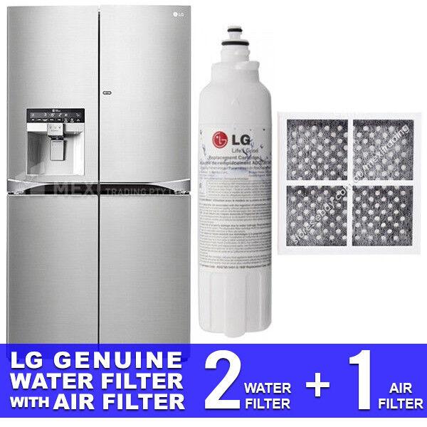 LG GENUINE 2X GF-5D906SL.ASTRGAP WATER FILTER + LG AIR FILTER LT120F