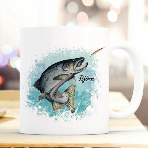 Tasse Becher Meerforelle Forelle Fisch /& Wunschname Kaffeetasse Geschenk ts964