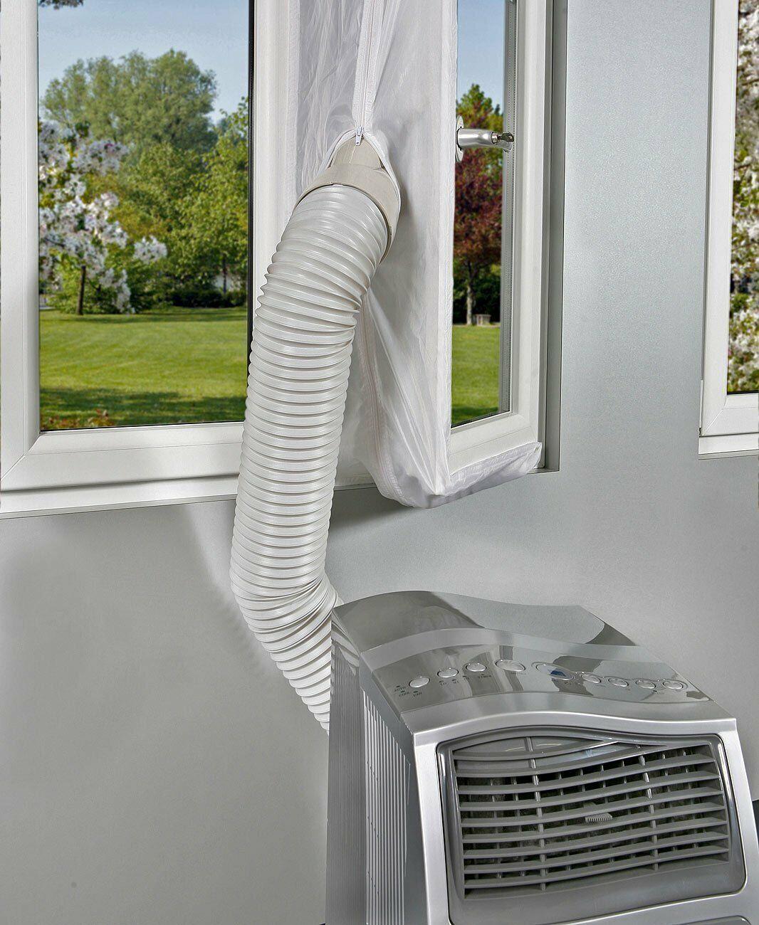 4M Hot Air Stop AirLock Fensterabdichtung für mobile Klimageräte Ablufttrockner