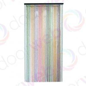 Bead fly curtains for doors