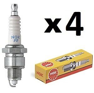 NGK-CR10EK-Spark-Plug-x4-SET-for-Yamaha-YZF-R6-All-R6-amp-Suzuki-GSX-R750-L-amp-M