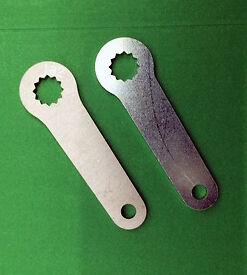 BSA-Bantam-D1-D3-90-5547-H182-FRONT-BRAKE-ARM-LEVER-JtCLASSIC-STAINLESS-STEEL