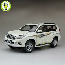 1:18 Scale Toyota Land Cruiser Prado Diecast SUV Car Model White